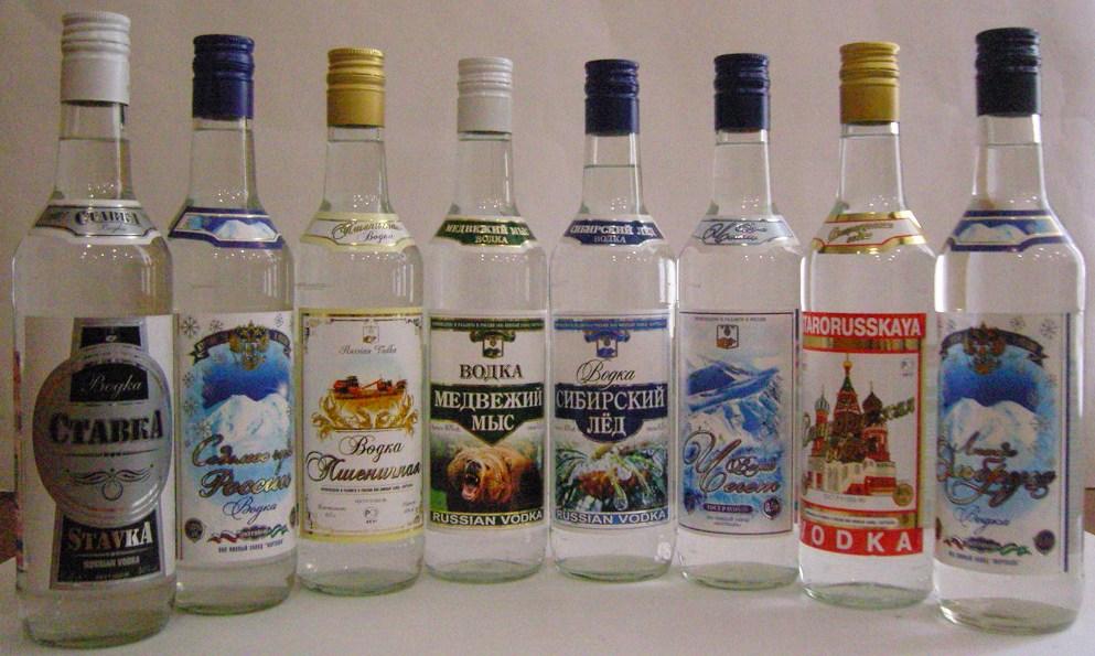 Спирт пищевой и другие виды: классификация и маркировка