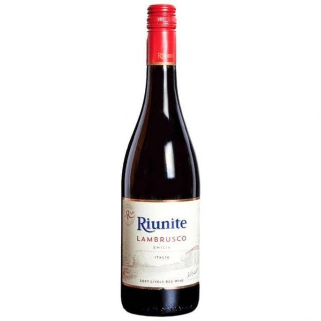 Ламбруско игристое вино- виды, отличия, описание