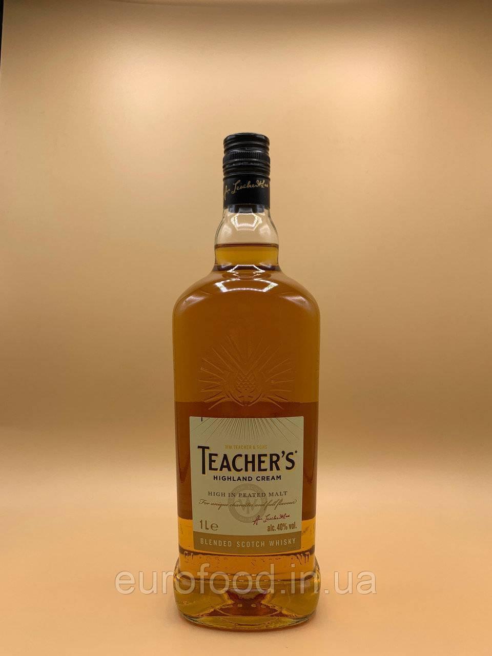 Пробую бюджетный виски teacher's