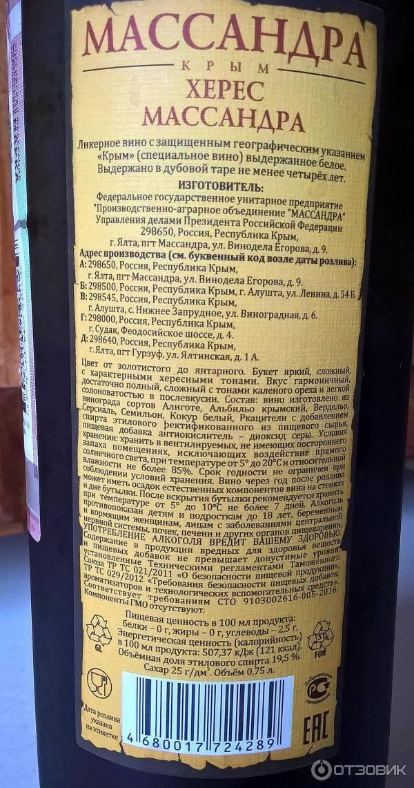 С чем пьют портвейн массандра | wine & water