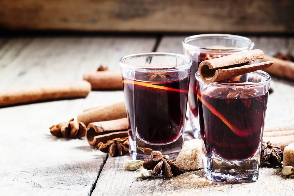Бенгальский огонь в стакане (пунш, грог, глинтвейн)