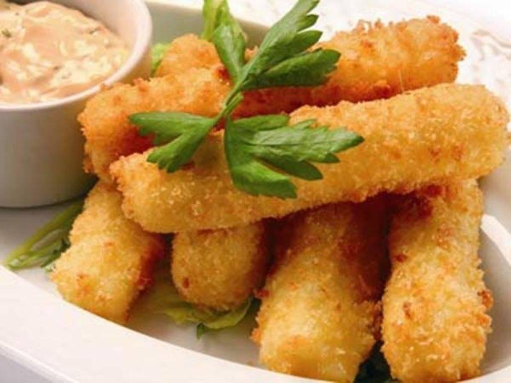 Сырные палочки – кулинарный рецепт