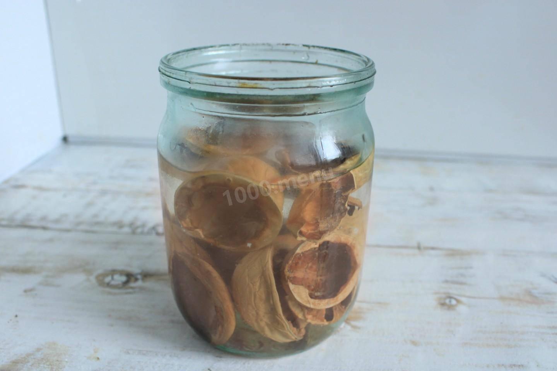 Рецепты настоек из самогона на перегородках грецких орехов, имитация коньяка