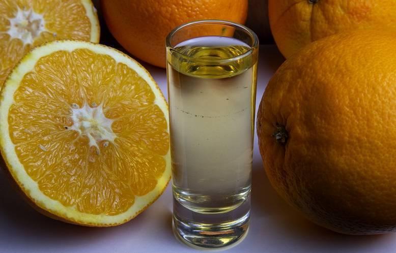 Самогон на апельсинах и их корочках