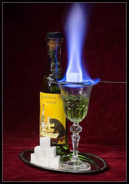 Какой алкоголь должен гореть