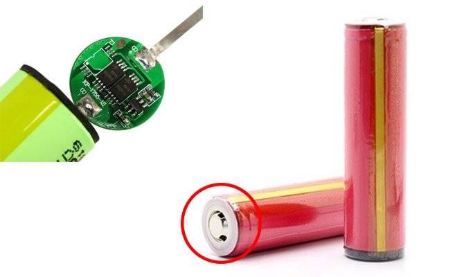 Где у батареи 18650 плюс и минус. схемы соединения аккумуляторов