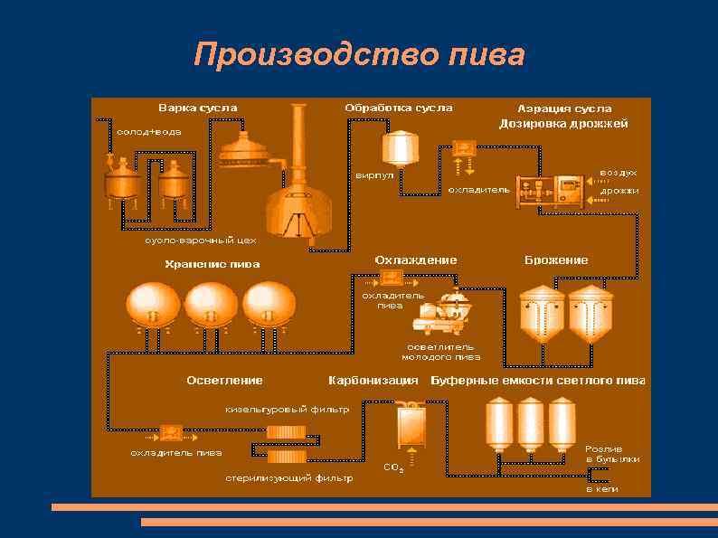Технология производства пива в россии