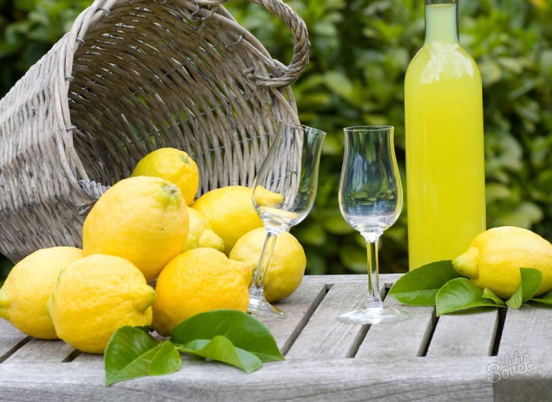 """Итальянский лимонный ликер """"лимончелло"""""""