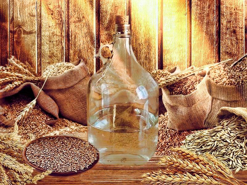 Приготовление хлебного вина в домашних условиях