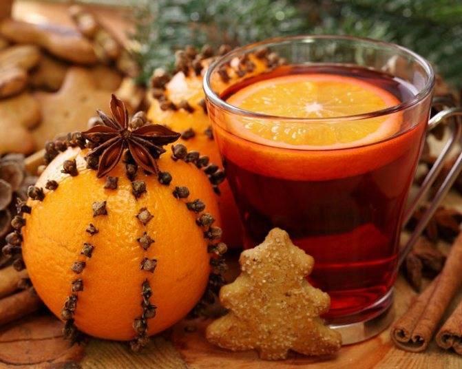 Глинтвейн: рецепты с апельсином в домашних условиях