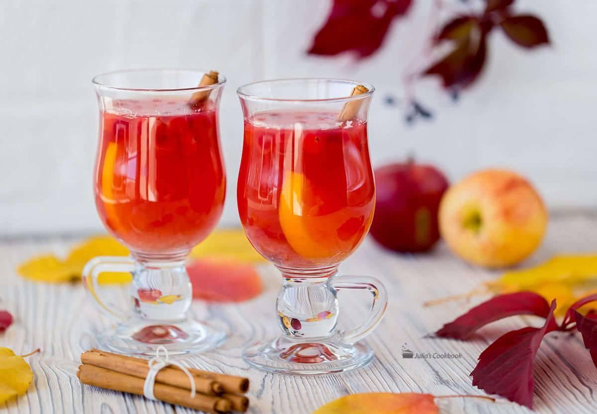 Яблочный пунш алкогольный рецепт