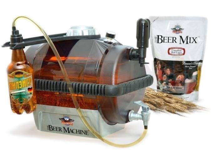 Производство пива промышленными масштабами