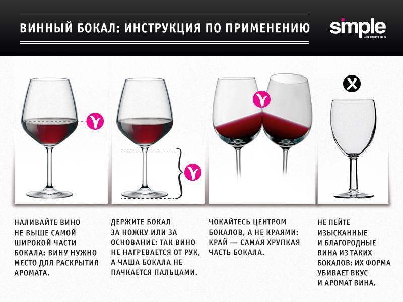 Как правильно открывать и разливать вино и зачем винным бокалам ножка. как подавать вино