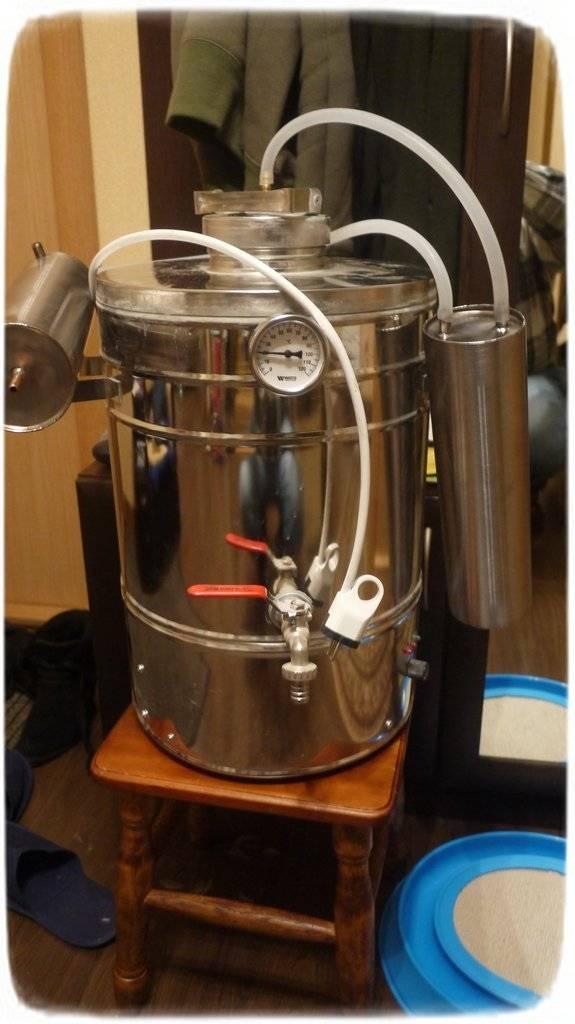 Устройство самогонного аппарата с тэн