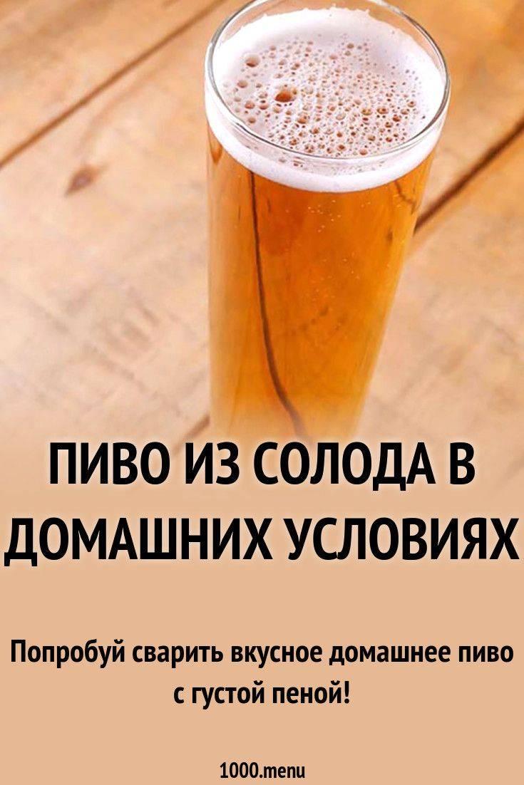 Приготовление безалкогольного пива в домашних условиях