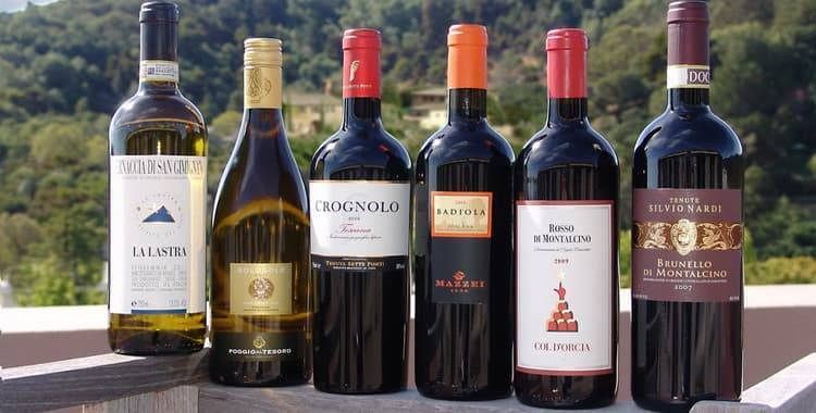 Грузинские вина- марки, сорта, производители, рейтинг