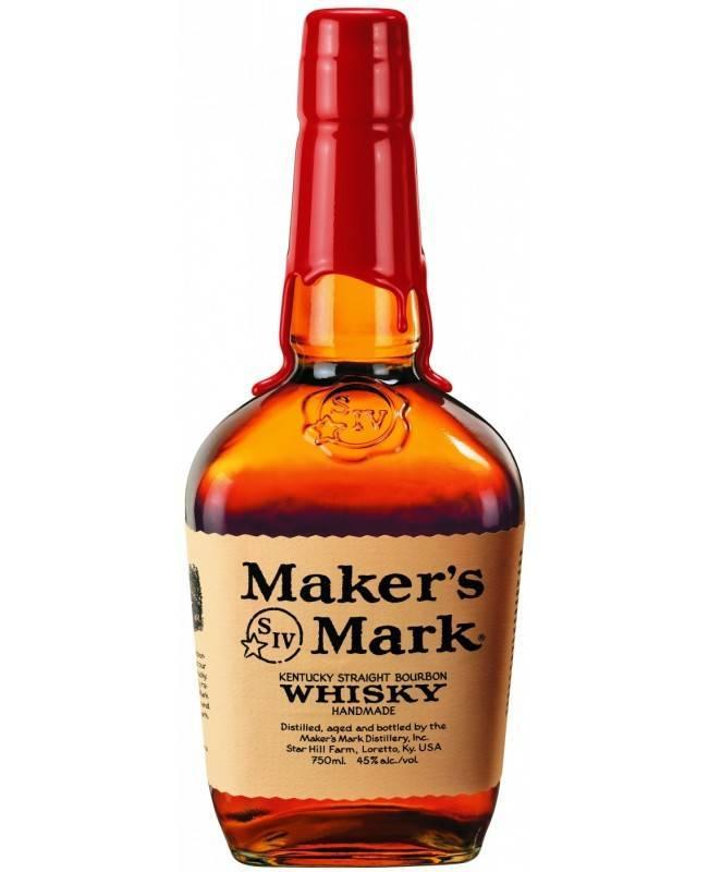 Виски «мэйкерс марк» (maker's mark) бурбон 0,7л крепость 45%
