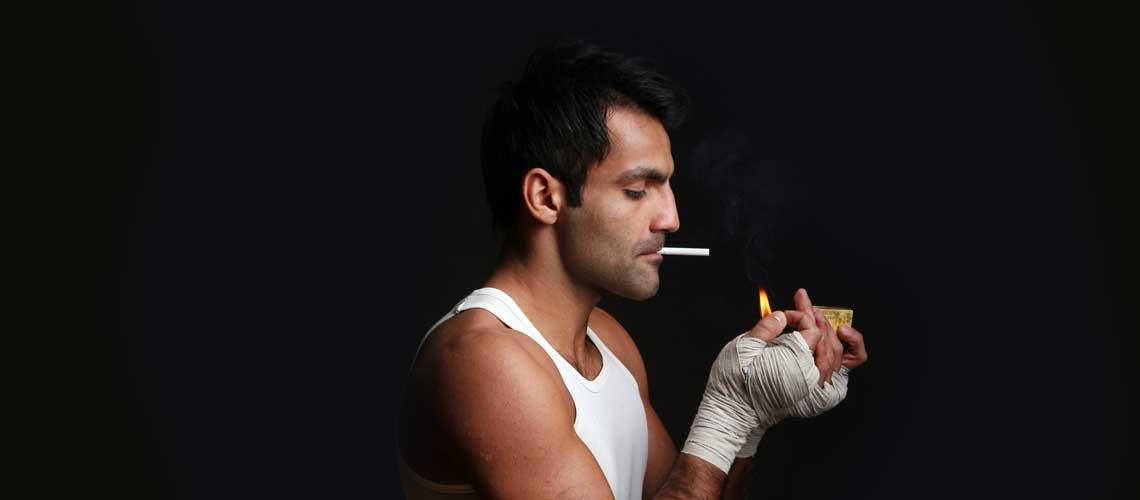 Можно ли курить и заниматься спортом одновременно