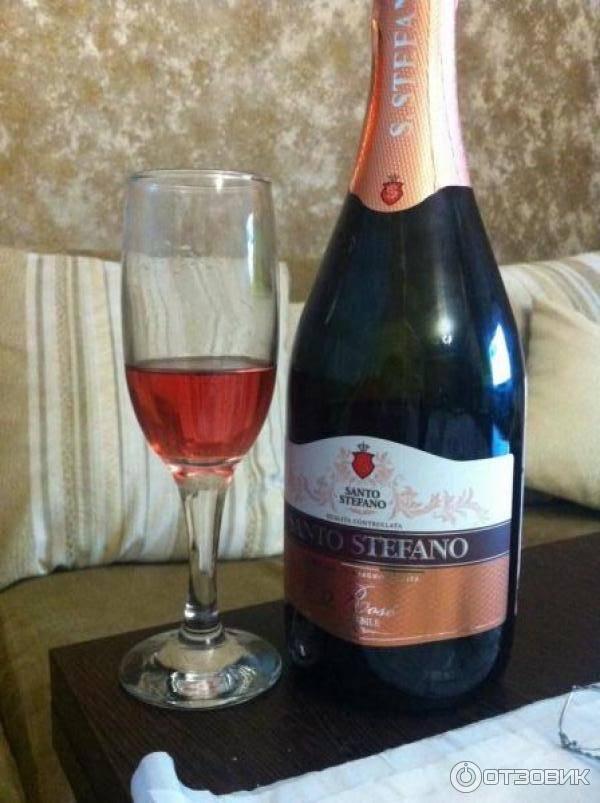 Шампанское санто стефано (santo stefano): описание марки