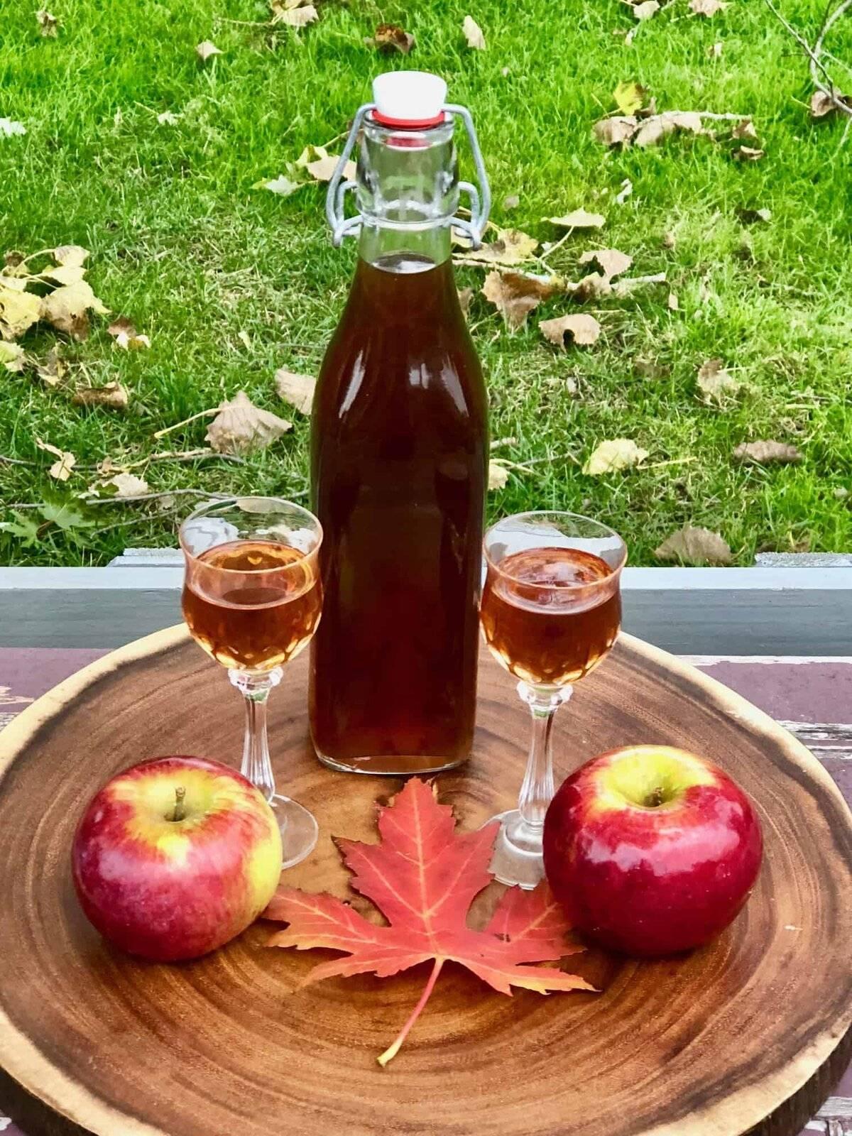Вкусная и полезная домашняя яблочная настойка: свойства, технология приготовления, рецепты | про самогон и другие напитки ? | яндекс дзен