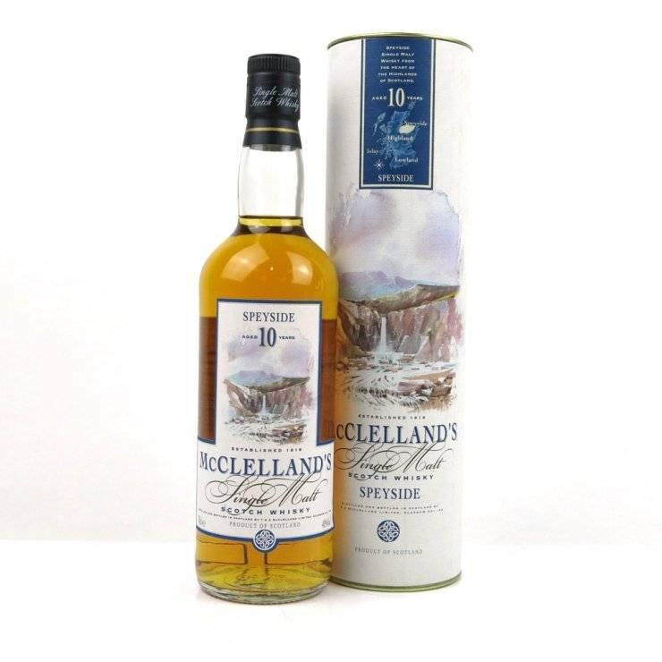 Виски макклелланд: история бренда, вкусовая палитра