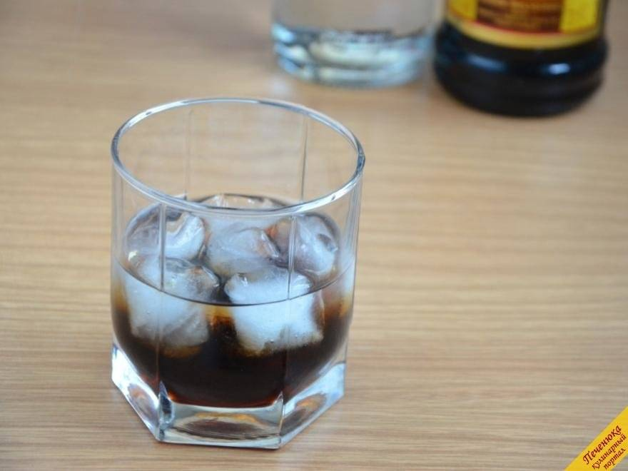 Коктейль «черный русский» — рецепт приготовления