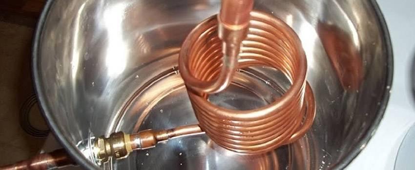 Змеевик для самогонного аппарата: размеры и материалы