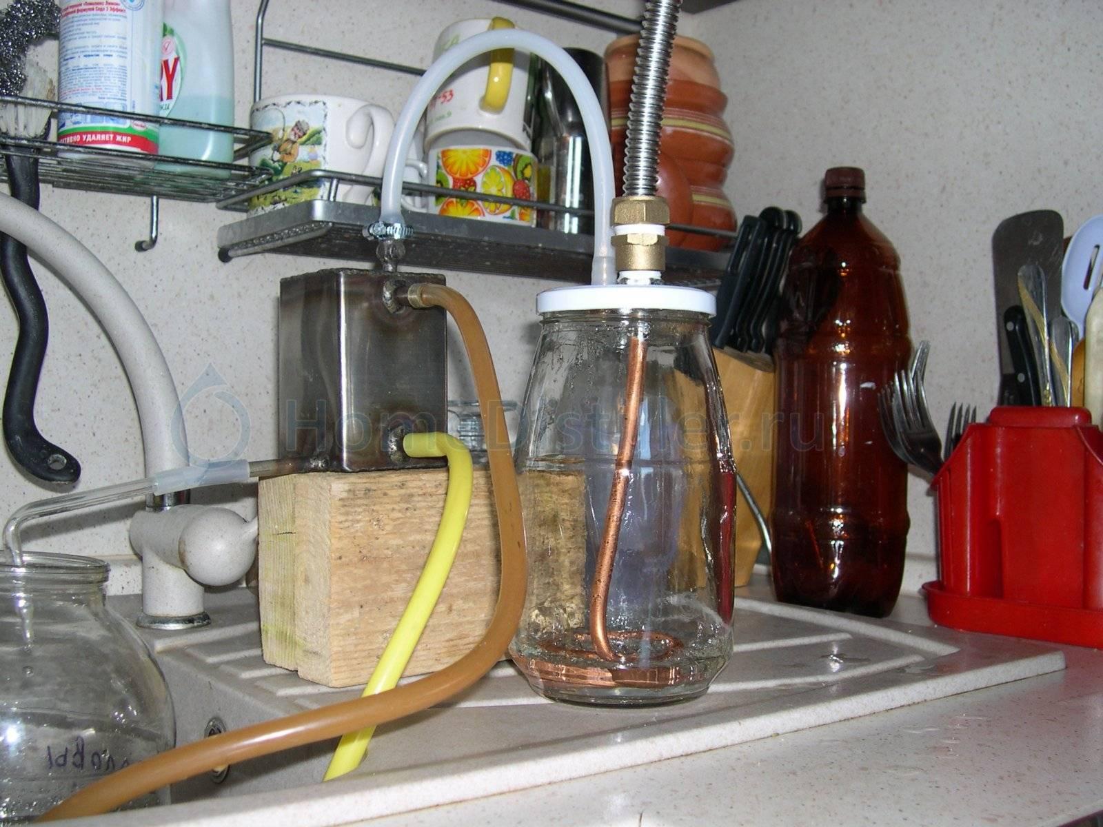 Дробная перегонка спирта-сырца и самогона в домашних условиях: пошаговая инструкция