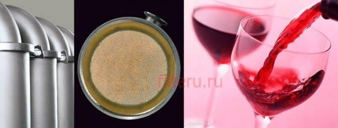 Способы осветления вина