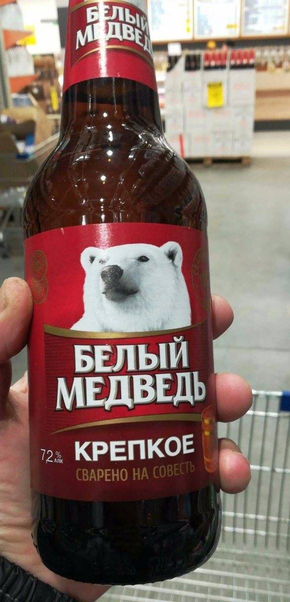 «белый медведь» в розлив» — новый сорт от efes