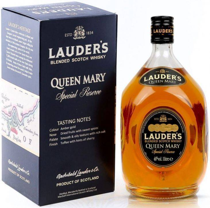 Виски lauder's: описание, отзывы, стоимость и цены