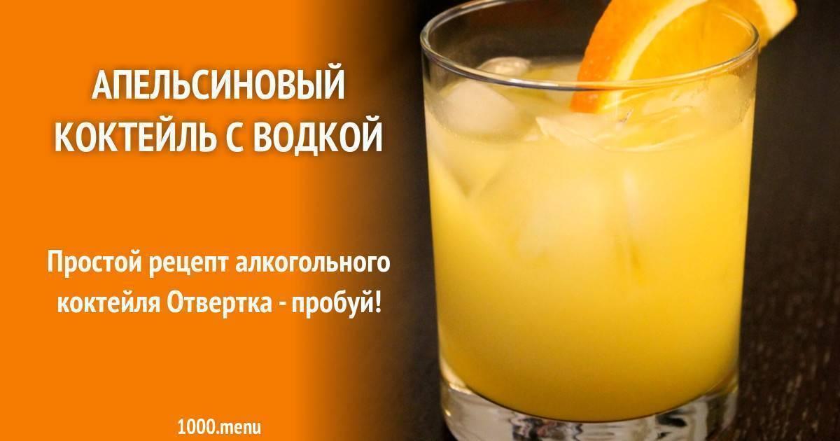 Коктейль «отвёртка» / алкогольные коктейли / tvcook: пошаговые рецепты с фото