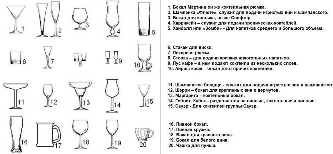Виды бокалов для пива для разных сортов – как выбрать подходящую форму и объем