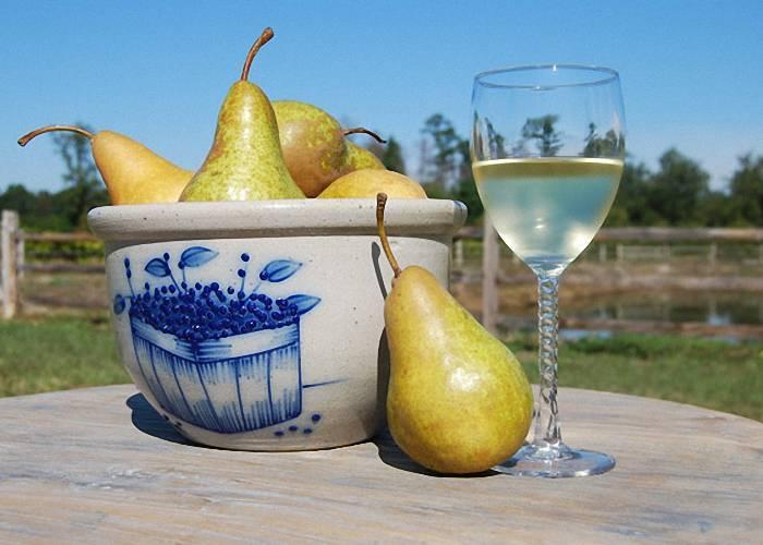 Делаем вино из груш в домашних условиях