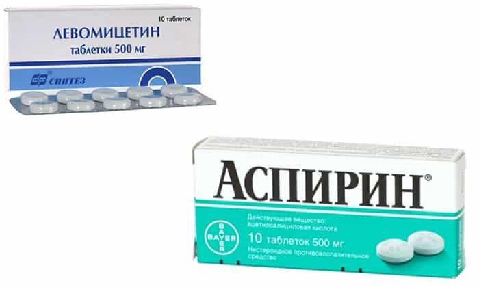 Аспирин и парацетамол: можно ли пить вместе