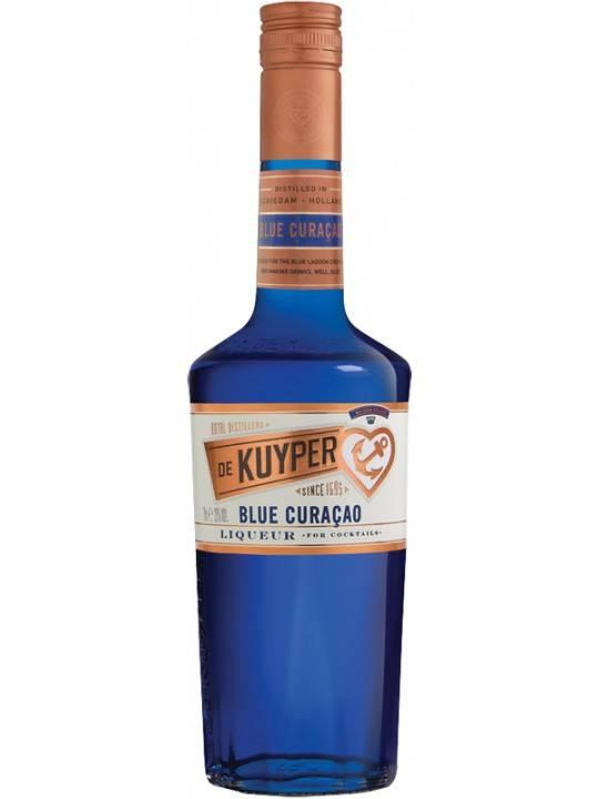 Ликер блю кюрасао и коктейли с ним ⋆ рецепты домашнего алкоголя