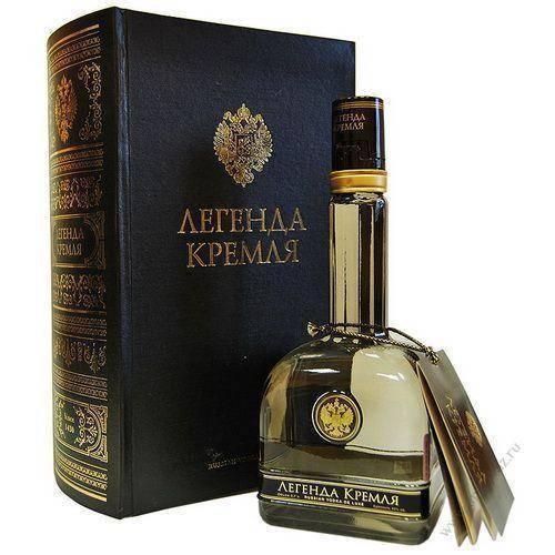 Обзор водки легенда кремля - характеристика и особенности