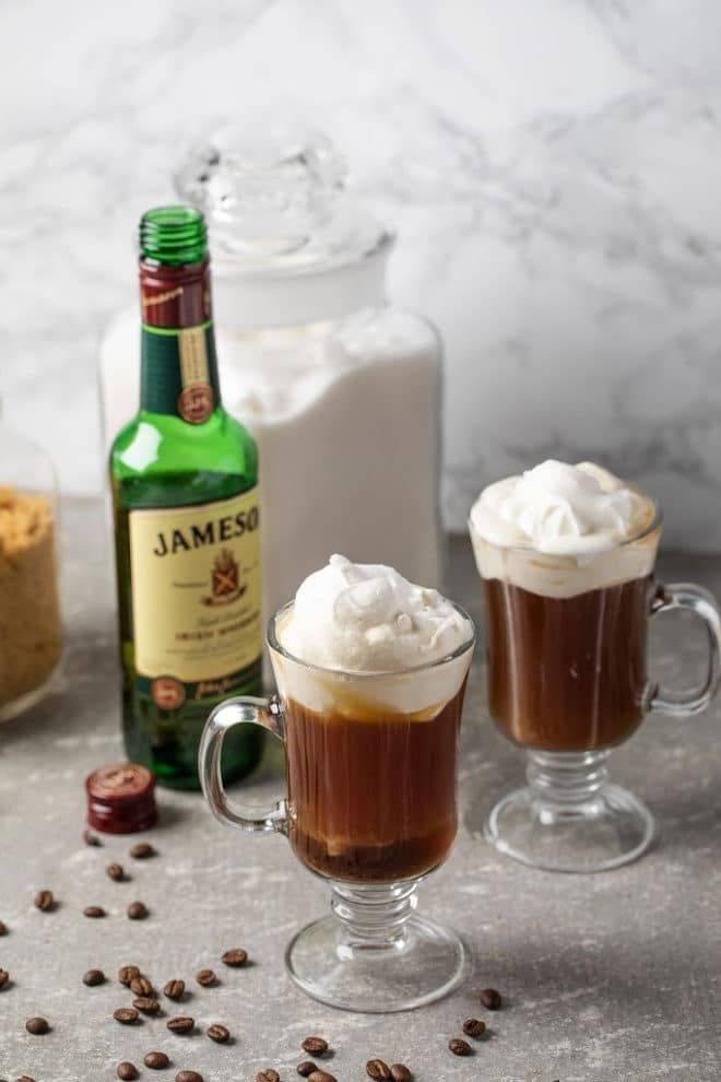 Ирландский кофе: 25 вкусных рецептов для приготовления в домашних условиях. советы по приготовлению и подаче (50 фото)!