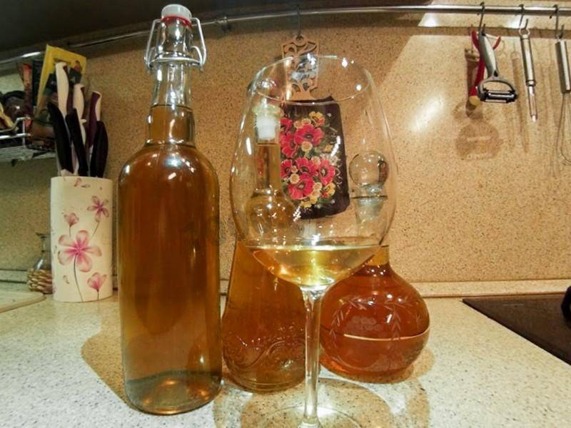 6 простых рецептов вина из яблок в домашних условиях