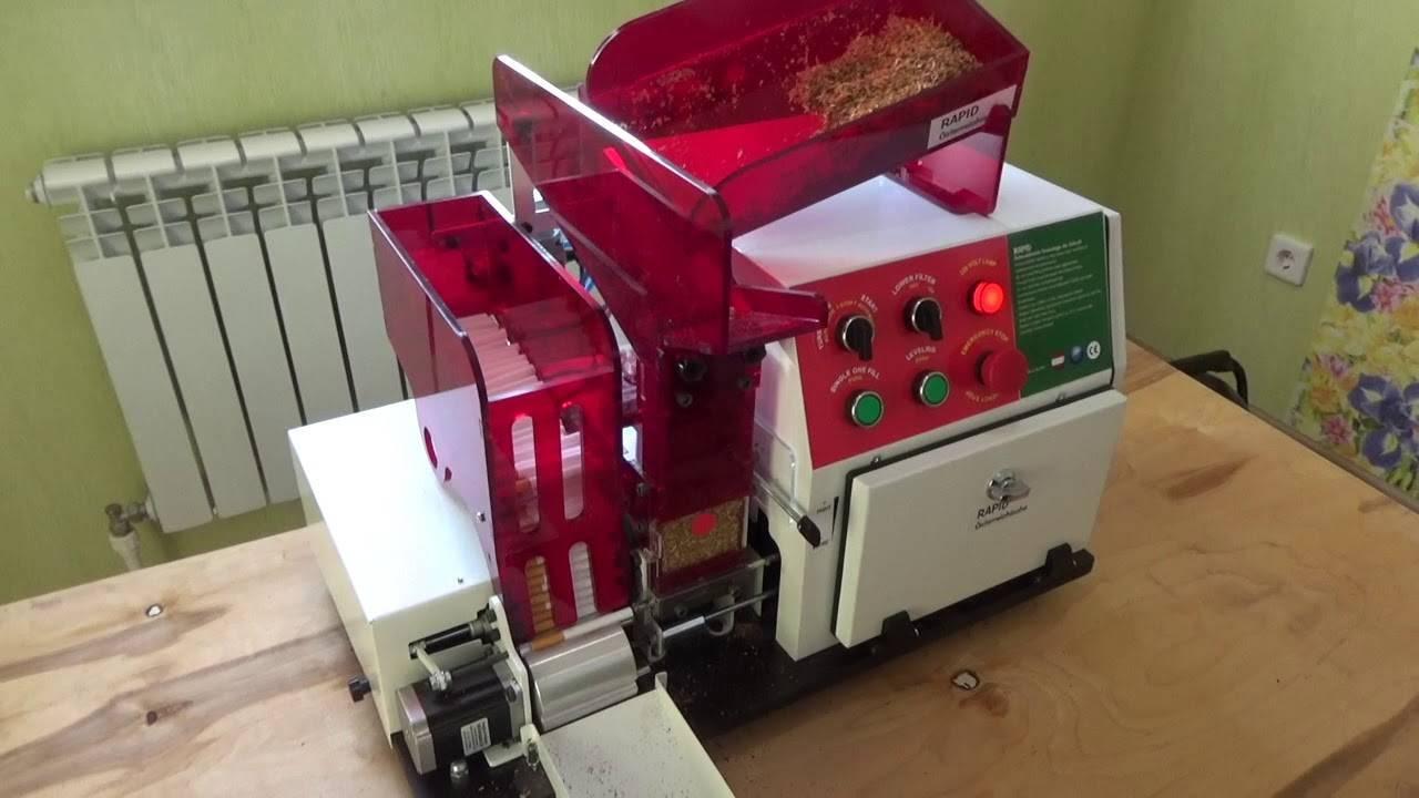 Купить оборудование для производства сигарет и сигаретной бумаги по выгодной цене