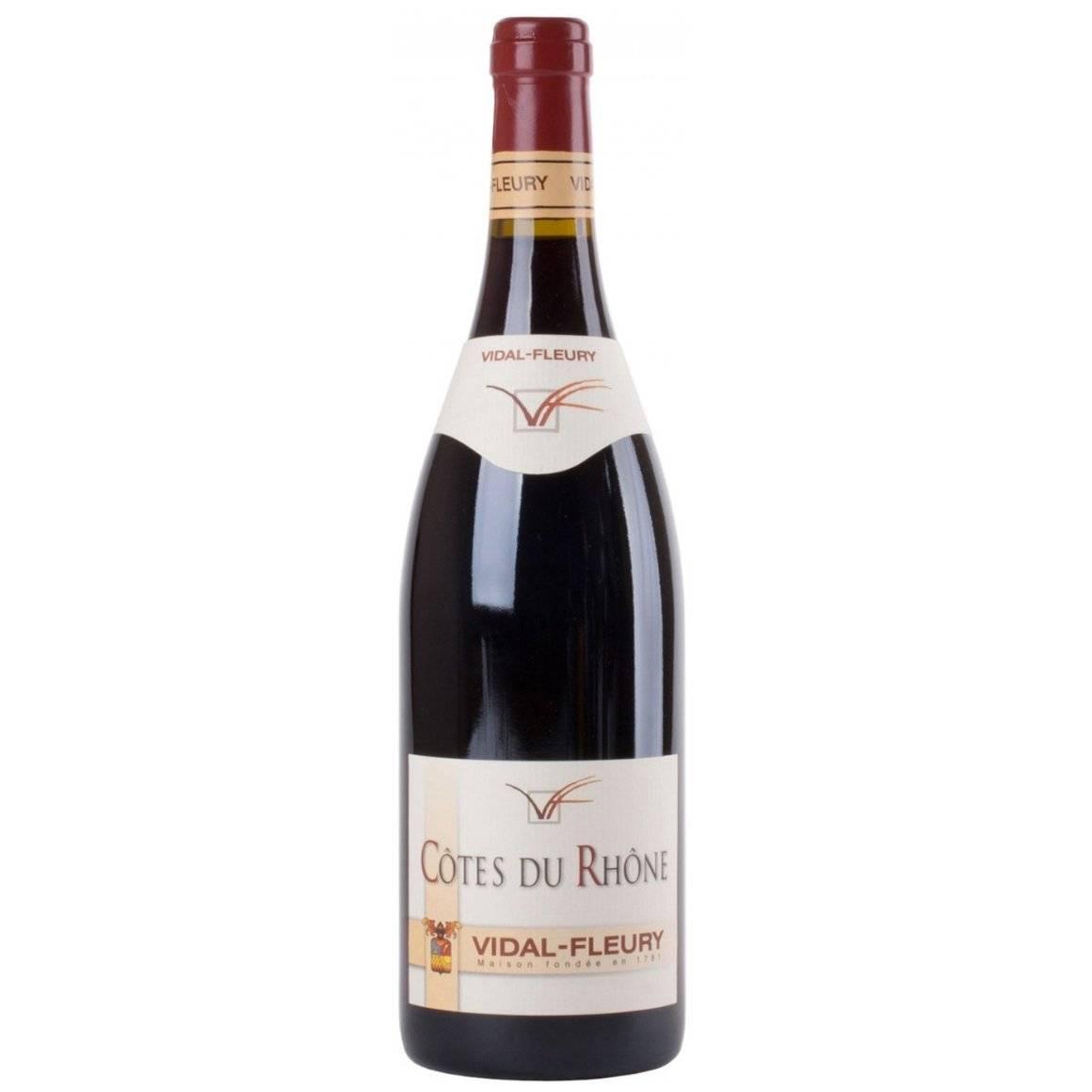 Кот дю рон, север и юг - вина и виноделие