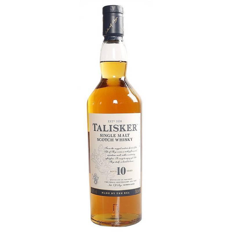 Шотландский виски talisker с торфяным послевкусием