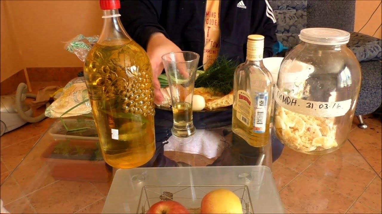 Настойки на водке