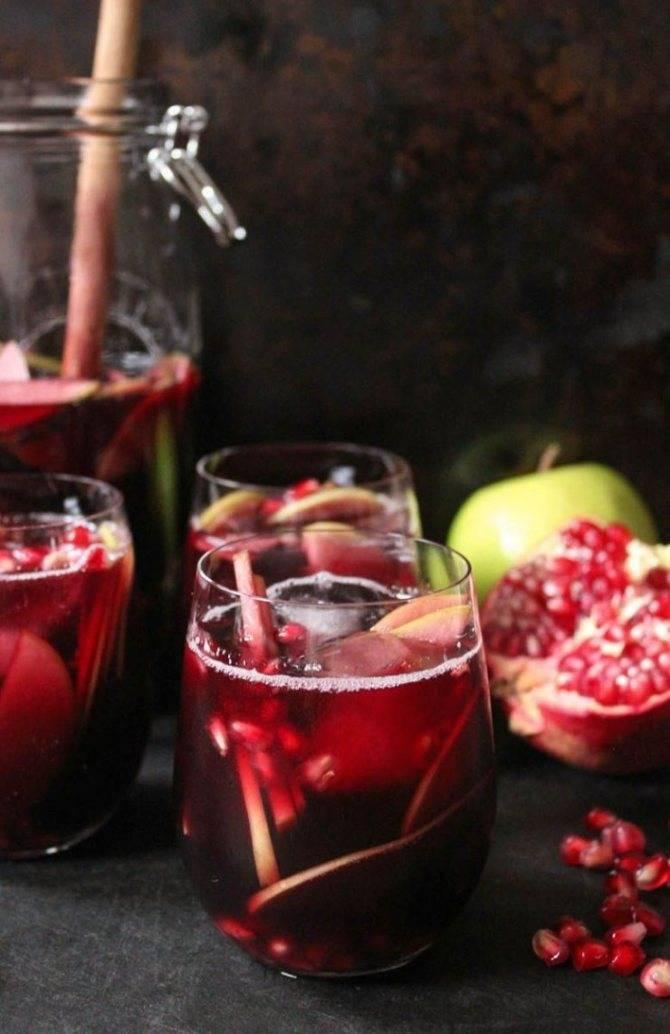 Рецепты приготовления коктейлей с вином