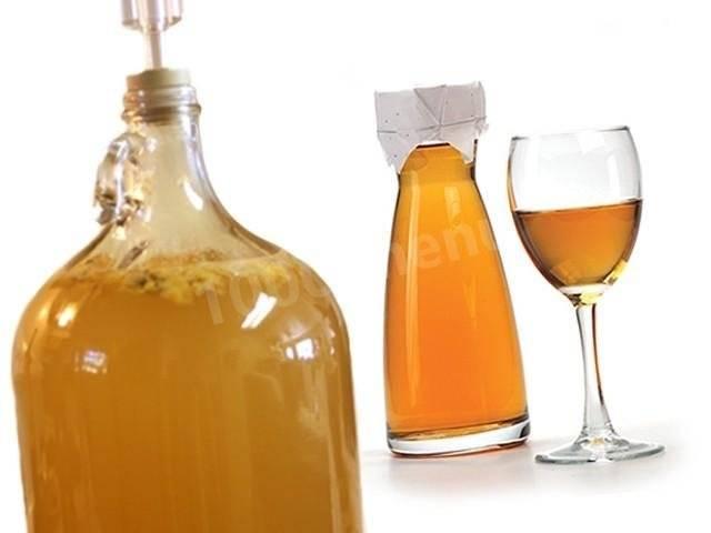 Домашнее вино из мёда
