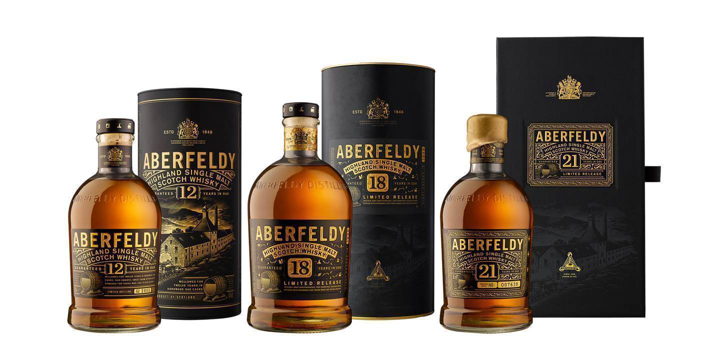 Обзор виски Aberfeldy (Аберфелди)