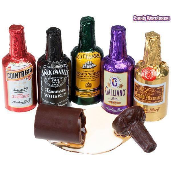 Алкоголь и шоколад – идеальное сочетание - секреты гастрономии