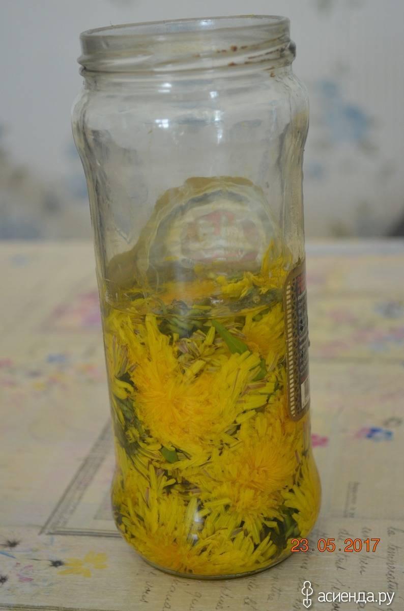 Растирание из одуванчиков для суставов: рецепты приготовления на спирту или воде в домашних условиях | статья от врача