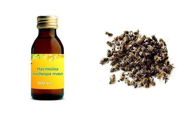 Пчелиный подмор настойка на водке при каких заболеваниях