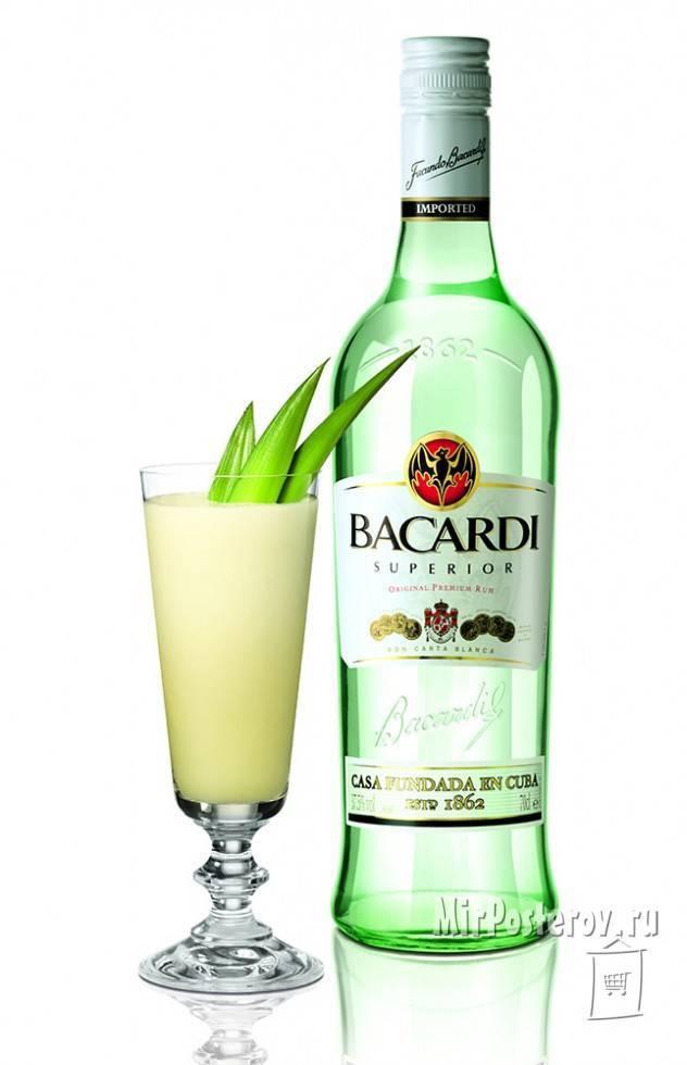 Ром бакарди блэк. с чем пьют бакарди?